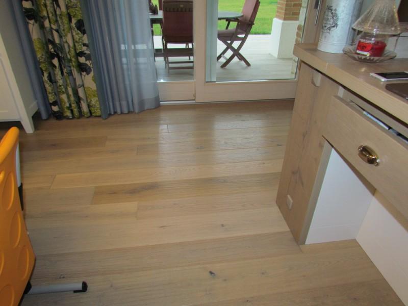 Casa privata Montorso Vicentino Pavimento legno Fiemme 3000 Rovere Argento variegato piallato