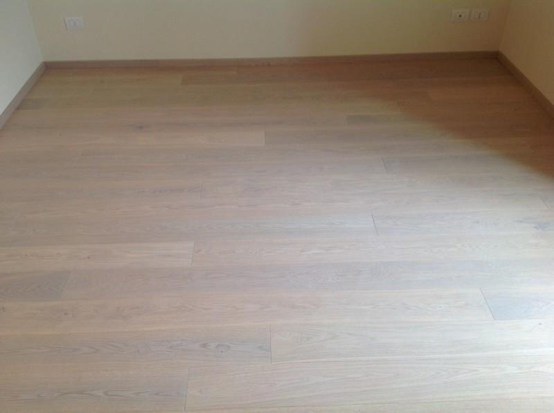 Casa privata Brendola (Vi) Pavimento legno Re Bianco spazzolato oliato Fiemme 3000