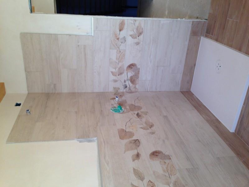 Brenpav pavimenti rivestimenti parquet mosaico - Piastrelle bagno legno ...