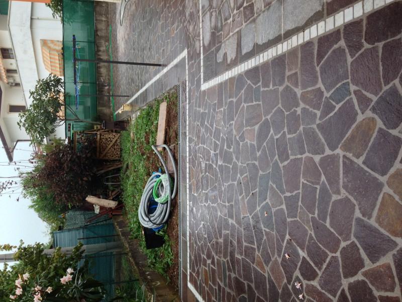 Pavimentazione in porfido multicolor  Casa privata Montecchio Maggiore (Vi)